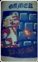 My Mario Tat by 2barquack