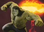Me as the Hulk by 2barquack
