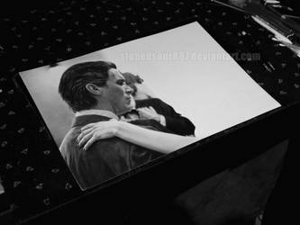 Christian Bale and Anne Hathaway WIP by stonedsour887