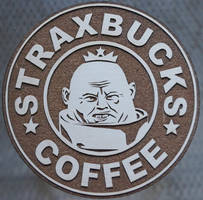 Strax the Sontaran coaster by geekbrit