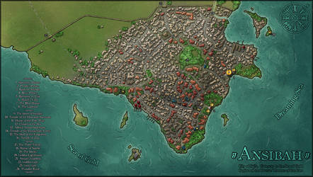 The City of Ansibah by tipexleloup