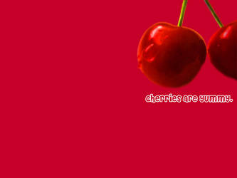 Cherries Are Yummy by Charmology