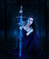 Demon Huntress by ObscureLilium