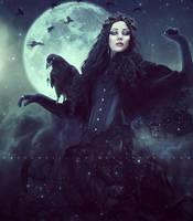 Corvus Regina by ObscureLilium