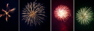 4th of July Fireworks Stock 18 by AreteStock