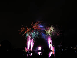 Epcot Illuminations Stock 14 by AreteStock