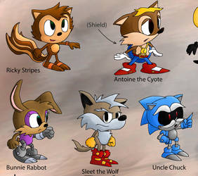 Sonic Multiverse Classic by foxheadTails