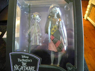 My Nightmare before Christmas Sally figure by Kingdomhearts1994