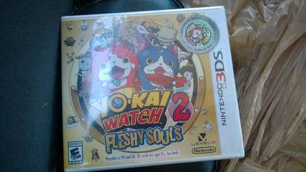 I  got Yo-kai watch 2 by Kingdomhearts1994