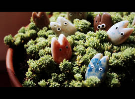 Little guests by aszoka