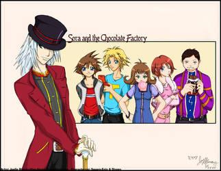 Sora + the Chocolate Factory 2 by Hino-Akurei