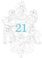 Ellie: 21 by Sarky-Sparky