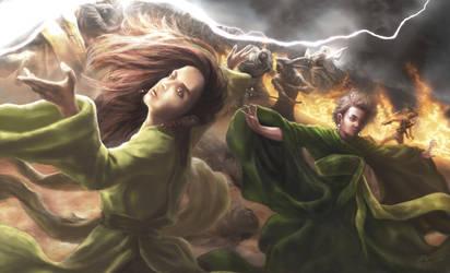 Bera Harkin and Kiruna Nachiman by Jieroque