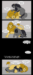 Leona and Sable's Wild Night DAcut by Godendag