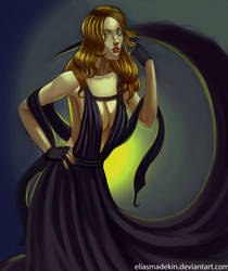 Goddess of Darkness by Finishingstrike