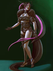 Riena Full Color Comision by Finishingstrike