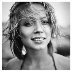 Portrait of Alena. 2005 by bakhvalov