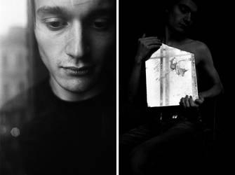 Dima and The Mirror. 2006 by bakhvalov