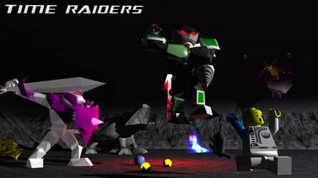 Time Raiders Monster Mash Promo Wallpaper by Cirevam