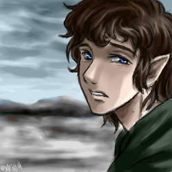 Wasteland - Frodo by famira