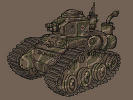 Light Tank by spacegoblin