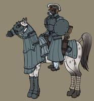 Cavalry by spacegoblin