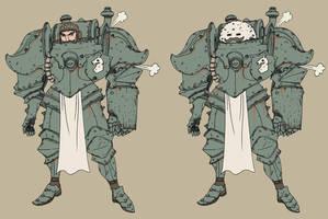 Steam Knight by spacegoblin
