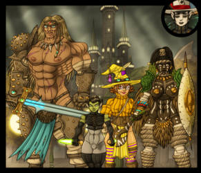 Warriors of Justice! by spacegoblin