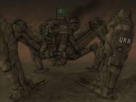 Quad Mech by spacegoblin