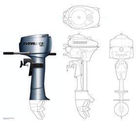 Evinrude Redesign by ethan-