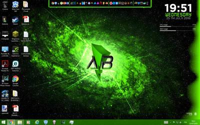 My Desktop by TheMasterCreative