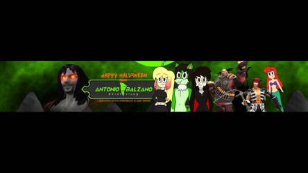 Banner YT (Halloween Look) by TheMasterCreative