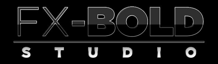 FX-BOLD Studio Logo by TheMasterCreative