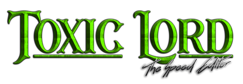 Toxic Lord New Logo 2019 by TheMasterCreative