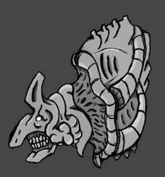 Eldritch Horror Bust by 0-DarknesShade-0