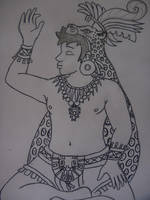 Mayan dude by pythoncasey