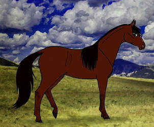 Josefine - Whitemane the Wild Mustang by Graupe