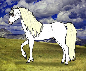 Stormwind - Whitemane the Wild Mustang by Graupe