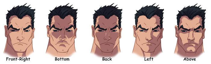 Facial Shading by Juggertha