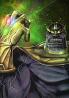 Thanos by Juggertha