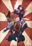 Marvel Ninjas by Juggertha