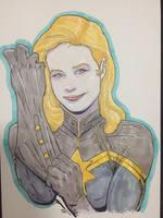 Captain Marvel by Juggertha