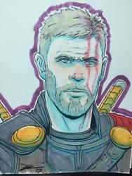 Thor Ragnarok by Juggertha