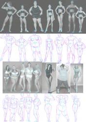 Female Bodies by Juggertha