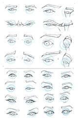 Eye Study by Juggertha