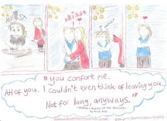 Comfort - Lestat and Marius by wolfMancub