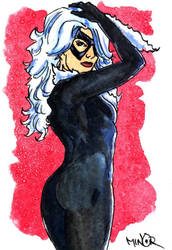 Black Cat by Jerantino