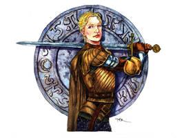 Brienne of Tarth by Jerantino