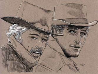 Butch Cassidy and the Sundance Kid by Jerantino