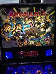 Metallica pinball black glass  by Tgtgtf